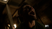 Teen Wolf Season 3 Episode 4 Unleashed Kali impales Derek.png