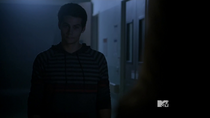 Teen Wolf Season 3 Episode 18 Riddled Stiles Honeybadger look