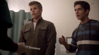 Teen Wolf Season 3 Episode 7 Currents Charlie Carver Tyler Posey Ethan and Scott hospital react