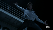Teen Wolf Season 4 Episode 8 Time of Death Liam leaps at Berserker