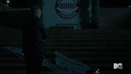 Teen Wolf Season 5 Episode 17 A Credible Threat Chris arrives at the school