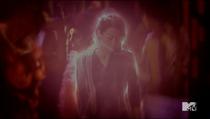 Teen Wolf Season 3 Episode 16 Illuminated Kira flaming fox outline