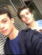 Andrew Matarazzo Froy Gutierrez Teen Wolf Set Season 6b production Wikia
