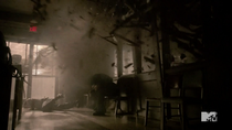 Teen Wolf Season 3 Episode 19 Letharia Vulpina Explosion