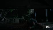 Teen Wolf Season 5 Episode 17 A Credible Threat Body cut in half