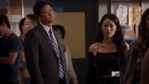 Teen Wolf Season 3 Episode 13 Tom T. Choi Arden Cho Kira and her dad