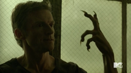 Teen Wolf Season 5 Episode 14 The Sword and the Spirit Deucalion captured by Theo's pack