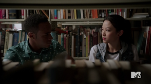 Teen Wolf Season 5 Episode 6 Required Reading Mason and Kira talk kitsune