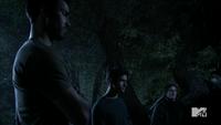 Teen Wolf Season 3 Episode 3 Fireflies Tyler Hoechlin Daniel Sharman Tyler Posey Derek Hale Isaac Lahey Scott McCall hunting lessons