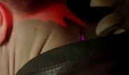 Jacksons scratchs glow when alpha is near
