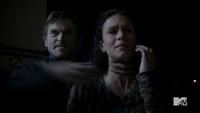 Teen Wolf Season 3 Episode 6 Motel California Gideon Emery Melissa Ponzio Deucalion Throat Slash