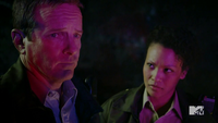 Teen Wolf Season 3 Episode 3 Fireflies Linden Ashby Sheriff and Deputy