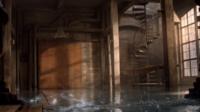 Teen Wolf Season 3 Episode 7 Currents Derek's Loft wet and electrified