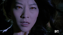 Teen Wolf Season 3 Episode 19 Letharia Vulpina Arden Cho Kira Kitsune eyes