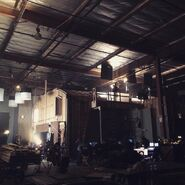 Teen Wolf Season 5 Behind the Scenes Library Set Exterior Teen Wolf HQ undated
