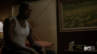 Teen Wolf Season 3 Episode 6 Motel California Sinqua Walls Boyd is haunted by radio
