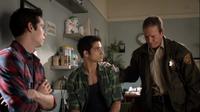 Teen Wolf Season 3 Episode 7 Currents Linden Ashby Tyler Posey Dylan O'Brien Sheriff Scott Stiles Vet Missing
