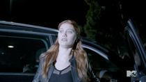 Teen Wolf Season 3 Episode 19 Letharia Vulpina Katie Myers Die on Teen Wolf
