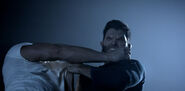 Teen Wolf Season 3 Episode 5 Frayed Tyler Hoechling Derek Hale battle with Ennis