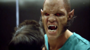 Teen Wolf Season 3 Episode 1 Tattoo Brian Patrick Wade Alpha Ennis Elevator Fight