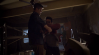 Teen Wolf Season 3 Episode 6 Motel California Charlie Carver Dylan O'brien Stiles saves Ethan