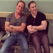 Teen Wolf Season 5 Behind the Scenes Linden Ashby Jeff Davis Beacon Hills Hospital set 041315