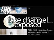 Fake MTV Channel is Lying to You about Teen Wolf Season 7