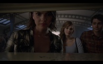 Teen Wolf Season05 Episode 1 creatures of the night Malia Hale senior ritual at bhhs library