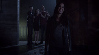 Teen Wolf Season 3 Episode 7 Currents Felisha Terrell Max Carver Charlie Carver Haley Webb Kali takes the upper hand