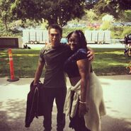 Teen Wolf Season 5 Behind the Scenes Dylan Sprayberry on location 2 021115