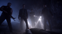 Teen Wolf Season 3 Episode 8 Visionary JR Bourne Chris Argent and the Hunters