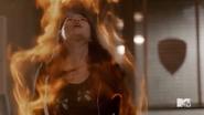 Teen Wolf Season 5 Episode 3 Dreamcatcher Kira after fighting Tracy
