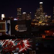 Teen Wolf Season 5 Behind the Scenes skyline 2 6th Street Bridge location 030515