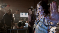 Teen Wolf Season 5 Episode 3 Dreamcatcher Malia tests mountain ash barrier
