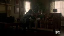 Teen Wolf Season 3 Episode 22 De Void Melissa McCall with bad Stiles