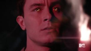 Teen Wolf Season 5 Episode 11 The Last Chimera Parrish' Eyes