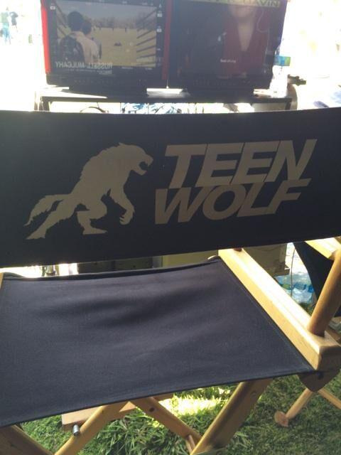 Teen Wolf Season 5 Behind the Scenes monitors Woodley Park 030315.jpg