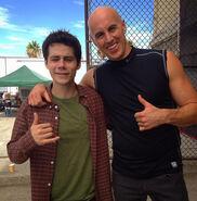 Teen Wolf Behind the Scenes Dylan O'Brien Douglas Tait Port of LA 091015