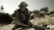 Teen Wolf Season 5 Episode 14 The Sword and the Spirit Parrish in Afghanistan