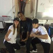Teen Wolf Season 5 Behind the Scenes Megan Brown Khylin Rhambo Dylan Sprayberry wardrobe trailer 090315