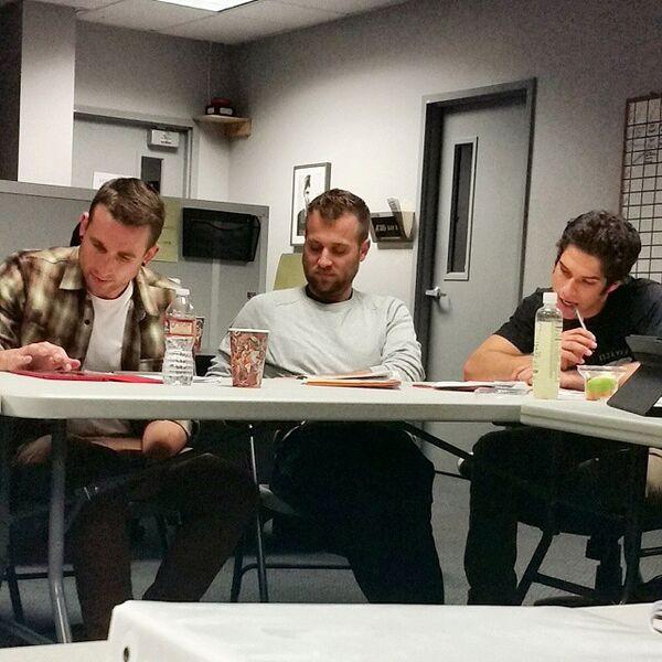 Teen Wolf Season 5 Co-Producers Meeting TWHQ 020515.jpg