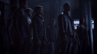 Teen Wolf Season 3 Episode 8 Visionary Deucalion Ennis and Kali before the Alpha Pack