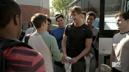 Teen Wolf Season 4 Episode 5 IED Liam greets Devenford Prep team