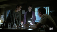 Teen Wolf Season 4 Episode 5 IED Scott Stiles Sheriff Debrief