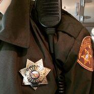 Teen Wolf Season 5 Behind the Scenes Linden Ashby Badge 021015
