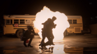 Teen Wolf Season 3 Episode 6 Motel California Lydia save everybody from explosion