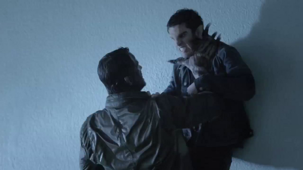 Teen Wolf News new creature tangles with Scott.png