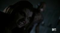 Teen Wolf Season 3 Episode 3 Fireflies Adelaide Kane Sinqua Walls Cora and Boyd in the boilerroom
