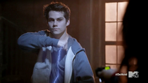 Teen Wolf Season 3 Episode 22 De Void Stiles takes Taser