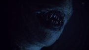 Teen Wolf Season 3 Episode 18 Riddled shiny teeth.png